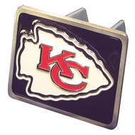KANSAS CITY CHIEFS NFL TRUCK TRAILER HITCH COVER