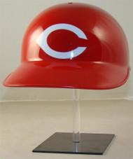 Cincinnati Reds Rawlings All Red Throwback Full Size Baseball Batting Helmet