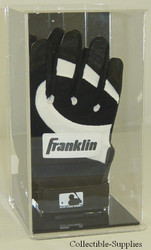 Single Baseball Batting Glove Wall Mountable Display
