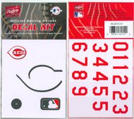 Cincinnati Reds Batting Helmet Rawlings Decal Kit