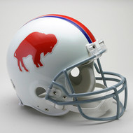 Buffalo Bills 1965-73 Throwback Riddell Full Size Authentic Helmet