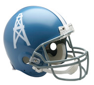 Houston Oilers 1960-63 Throwback Riddell Full Size Authentic Helmet