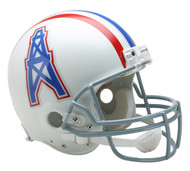 Houston Oilers 1975-80 Throwback Riddell Full Size Authentic Helmet
