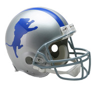 Detroit Lions 1962-68 Throwback Riddell Full Size Authentic Helmet