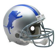 Detroit Lions 1962-68 Throwback Riddell Full Size Authentic Helmet
