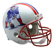 New England Patriots 1990-92 Throwback Riddell Full Size Authentic Helmet