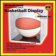 BallQube® Grandstand Basketball / Soccer/Volley Ball Display with UV Protection