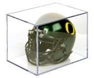 Mini Football Helmet Display Cube by Ballqube