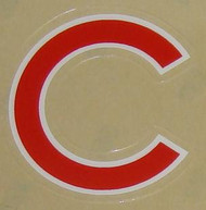 CHICAGO CUBS FULL SIZE HELMET 3M STICKER DECAL