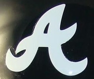 ATLANTA BRAVES FULL SIZE HELMET 3M STICKER DECAL