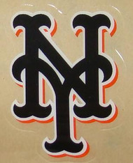 NEW YORK METS ALTERNATE FULL SIZE HELMET 3M STICKER DECAL