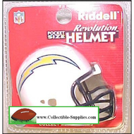 San Diego Chargers Revolution Mini Pocket Pro Helmet