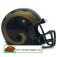 Saint Louis Rams Revolution Mini Pocket Pro Helmet