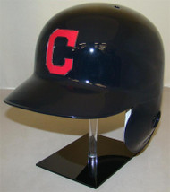 Cleveland Indians with C Road Rawlings LEC Full Size Baseball Batting Helmet