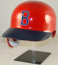 Boston Red Sox Rawlings REC Throwback Full Size Baseball Batting Helmet