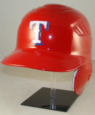 Texas Rangers RED Rawlings Coolflo LEC Full Size Baseball Batting Helmet