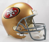 San Francisco 49ers Riddell Full Size Replica Helmet