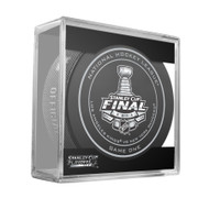 2014 NHL Stanley Cup Finals Playoff Sherwood Official Game Puck - Game 1 (One)