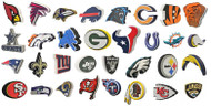 All 32 NFL Teams 3D Fan Foam Logo Signs