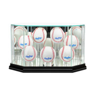 Deluxe Real Glass 7 Baseball Display Case