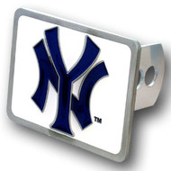 NEW YORK YANKEES MLB TRUCK TRAILER HITCH COVER