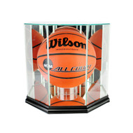 Deluxe Real Glass Basketball Octagon Display Case