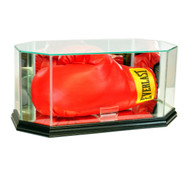 Deluxe Real Glass Boxing Glove Octagon Display Case