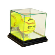 Deluxe Real Glass Softball Display Case