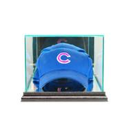 Deluxe Real Glass Cap/ Hat Display Case