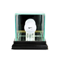 Deluxe Real Glass Golf Ball Display Case
