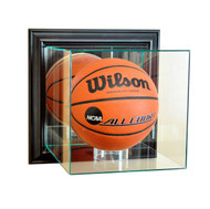 Deluxe Real Glass Wall Mounted Basketball Display Case