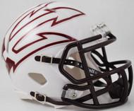 Arizona State Sun Devils White LARGE FORK Revolution SPEED Mini Helmet