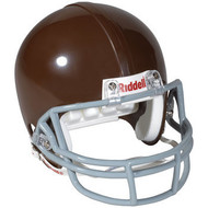 Green Bay Packers Throwback Brown Riddell Full Size Replica Helmet