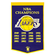 Los Angeles Lakers Dynasty Banner