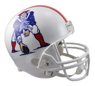 New England Patriots Throwback 1982-89 Riddell Full Size Replica Helmet
