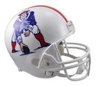 New England Patriots Throwback 1982-89 Riddell Full Size Replica Helmet