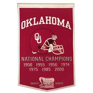 Oklahoma Sooners Dynasty Banner