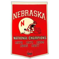 Nebraska Cornhuskers Dynasty Banner