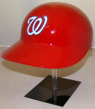 Washington Nationals Home Red Rawlings NEC Full Size Baseball Batting Helmet