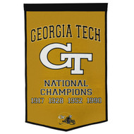 Georgia Tech Hornets Dynasty Banner