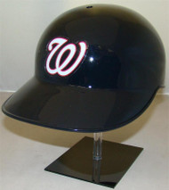 Washington Nationals Road Blue Rawlings NEC Full Size Baseball Batting Helmet