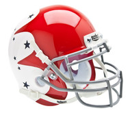 Air Force Falcons Special Red, White, and Blue Alternate Schutt Mini Authentic Helmet