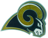 Los Angeles Rams LARGE NFL TRUCK TRAILER HITCH COVER