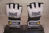 New Deluxe Double UFC / MMA Fight Glove Clear Display Case