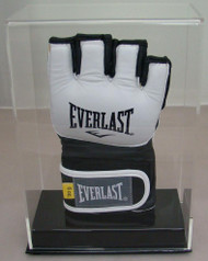 New Deluxe Single UFC / MMA Fight Glove Clear Display Case