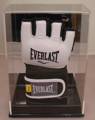 New Deluxe Single UFC / MMA Fight Glove Display Case with Mirror