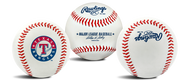 "Texas Rangers Rawlings ""The Original"" Team Logo Baseball"