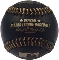 MLB BLACK & GOLD Rawlings Official Baseball