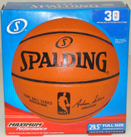 "Spalding NBA Replica Game Ball Basketball (Full Size 29.5"") Boxed"