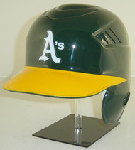 Oakland A's Rawlings Coolflo LEC Full Size Baseball Batting Helmet
